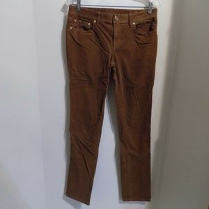 TORY BURCH Classic Tory Corduroy Cocoa Jeans 29